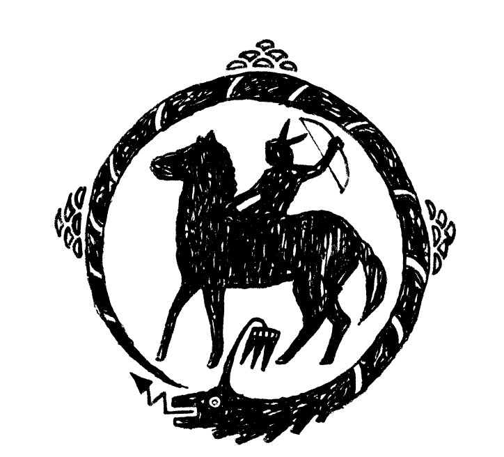 Il Logo Di Rancho Comancho
