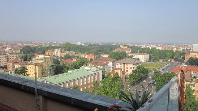 Parma vista dall'attico